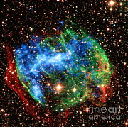 Gamma Ray Burst Photos - Supernova Remnant W49b by Science Source