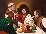 Marilyn  Comparetto - Supper-after Caravaggio