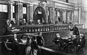 Stephen Johnson Metal Prints - Supreme Court, 1888 Metal Print by Granger