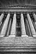 Supreme Court Building 10 Print by Val Black Russian Tourchin