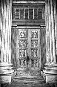 Supreme Court Building 12 Print by Val Black Russian Tourchin