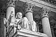 Supreme Court Building 16 Print by Val Black Russian Tourchin