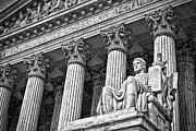 Supreme Court Building 19 Print by Val Black Russian Tourchin