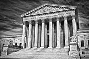 Supreme Court Building 2 Print by Val Black Russian Tourchin