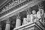 Supreme Court Building 20 Print by Val Black Russian Tourchin
