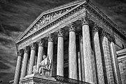 Supreme Court Building 5 Print by Val Black Russian Tourchin