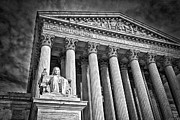Supreme Court Building 6 Print by Val Black Russian Tourchin