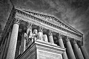 Supreme Court Building 7 Print by Val Black Russian Tourchin