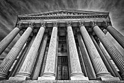 Supreme Court Building 8 Print by Val Black Russian Tourchin