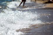 Surf Crashing Print by Lisa Knechtel