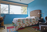 Showcase-interior Prints - Surf Themed Bedroom Print by Inti St. Clair