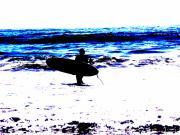 Surf Print by Tim Tanis