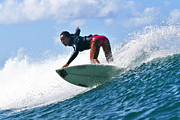 Wave Prints - Surfer Girl at Bowls 6 Print by Paul Topp