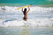 Surf Lifestyle Photos - Surfer Girl by Tomas Del Amo - Printscapes