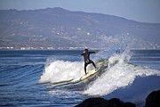 Molly Heng Metal Prints - Surfer Metal Print by Molly Heng