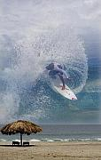 Cabana Framed Prints - Surfin the Sky 01 Framed Print by Obi Martinez