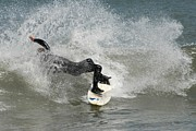 Athlete Prints Photos - Surfing 396 by Joyce StJames