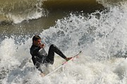 Athlete Prints Photos - Surfing 406 by Joyce StJames