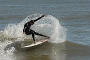 Action Lines Photos - Surfing 407 by Joyce StJames