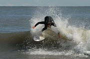 Athlete Prints Photos - Surfing 409 by Joyce StJames