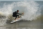 Athlete Prints Photos - Surfing 410 by Joyce StJames