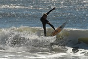 Athlete Prints Photos - Surfing 412 by Joyce StJames