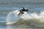 Athlete Prints Photos - Surfing 418 by Joyce StJames