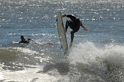 Athlete Prints Photos - Surfing 420 by Joyce StJames