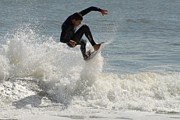 Athlete Prints Photos - Surfing 421 by Joyce StJames