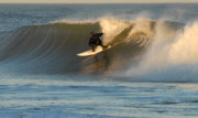 Tube Prints Prints - Surfing 80 Print by Joyce StJames