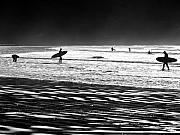 R J Ruppenthal Metal Prints - Surfing West Coast - Tofino BC Metal Print by R J Ruppenthal