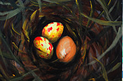 Covert Paintings - Surprise Egg  by Rick Adkins