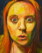 Shock Painting Originals - Surprise by Holly Minniear