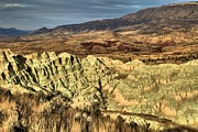 Blue Basin Overlook Prints - Surreal Landscape Print by Adam Jewell