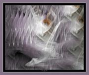 Abstract Music Digital Art - Surrond Sound by Sherry Holder Hunt