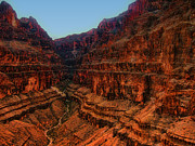 Surrounded Prints - Surrounded by Terraced Grand Canyon Walls Print by Douglas Barnard