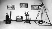 Police Officer Photo Prints - Surveillance Equipment, 19th Century Print by Science Source