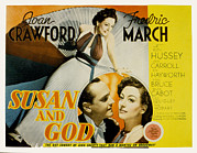 March Photos - Susan And God, Fredric March, Joan by Everett
