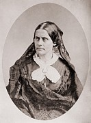 Susan B. Anthony Framed Prints - Susan B. Anthony 1820 –1906, American Framed Print by Everett