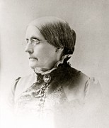 Susan B. Anthony Posters - Susan B. Anthony 1820-1906, American Poster by Everett
