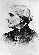 Susan B. Anthony Framed Prints - Susan B. Anthony, American Civil Rights Framed Print by Photo Researchers, Inc.