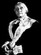 Susan B. Anthony Framed Prints - Susan B. Anthony, Photograph Taken Framed Print by Everett
