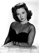 1940s Fashion Posters - Susan Hayward, 1940s Poster by Everett