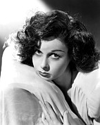 Hayward Metal Prints - Susan Hayward, 1942 Metal Print by Everett