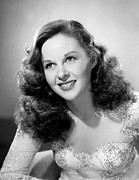 Hayward Metal Prints - Susan Hayward, 1947 Metal Print by Everett