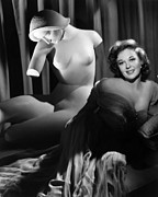 Statue Portrait Prints - Susan Hayward, Ca. 1952 Print by Everett