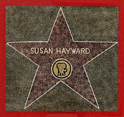 Actresses Originals - Susan Hayward in Granite by Herb Strobino