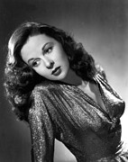 Evening Gown Photos - Susan Hayward, Portrait Circa 1945 by Everett