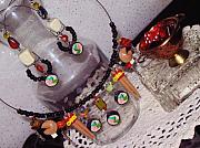 Food And Beverage Jewelry Originals - Sushi Fun Jewelry Set by Jamie Pool
