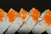 Home Made Food Photos - Sushi Homemade by Carolyn Marshall